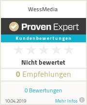 Erfahrungen & Bewertungen zu WessMedia