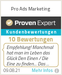 Erfahrungen & Bewertungen zu Pro Ads Marketing