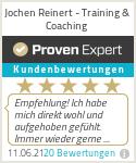Erfahrungen & Bewertungen zu Jochen Reinert - Training & Coaching