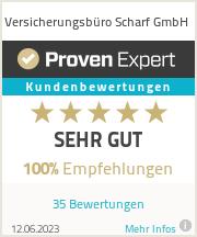 Erfahrungen & Bewertungen zu Versicherungsbüro Scharf