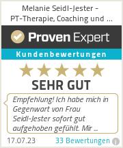 Erfahrungen & Bewertungen zu Melanie Seidl-Jester - PT-Therapie, Coaching und Seminare