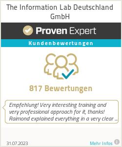 Erfahrungen & Bewertungen zu The Information Lab Deutschland GmbH