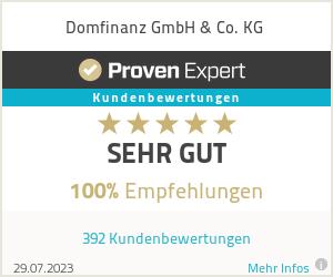 Erfahrungen & Bewertungen zu Domfinanz GmbH & Co. KG