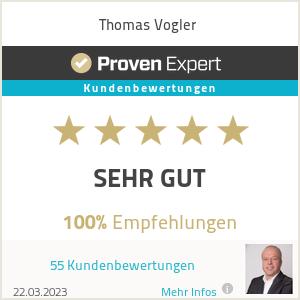 Erfahrungen & Bewertungen zu Thomas Vogler