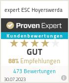Erfahrungen & Bewertungen zu expert ESC Hoyerswerda