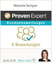 Erfahrungen & Bewertungen zu Marcela Semper