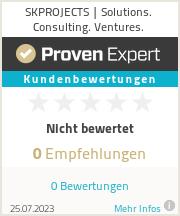 Erfahrungen & Bewertungen zu SKPROJECTS | Solutions. Consulting. Ventures.