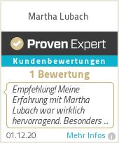 Erfahrungen & Bewertungen zu Martha Lubach