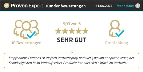 Kundenbewertungen & Erfahrungen zu Clemens Adam. Mehr Infos anzeigen.