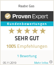 Erfahrungen & Bewertungen zu Raabe Gas