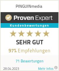 Erfahrungen & Bewertungen zu PINGUINmedia
