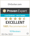 Ratings & reviews for OhGuitar.com