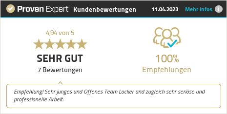 Kundenbewertungen & Erfahrungen zu Gerber Innovation GmbH. Mehr Infos anzeigen.