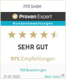 Erfahrungen & Bewertungen zu FPZ: Deutschland den Rücken stärken GmbH