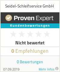 Erfahrungen & Bewertungen zu Seidel-Schleifservice GmbH
