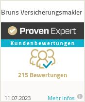Erfahrungen & Bewertungen zu Bruns Versicherungsmakler