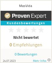Erfahrungen & Bewertungen zu MasVida