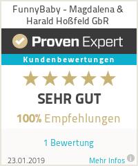 Erfahrungen & Bewertungen zu FunnyBaby - Magdalena & Harald Hoßfeld GbR