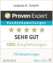 Erfahrungen & Bewertungen zu izabela K. GmbH