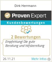 Erfahrungen & Bewertungen zu Dirk Herrmann
