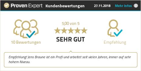 Erfahrungen & Bewertungen zu Jens Braune del Angel anzeigen