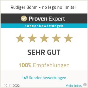 Erfahrungen & Bewertungen zu Rüdiger Böhm - no legs no limits!