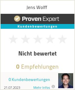 Erfahrungen & Bewertungen zu Jens Wolff