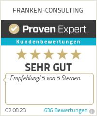 Erfahrungen & Bewertungen zu FRANKEN-CONSULTING