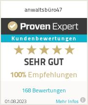 Erfahrungen & Bewertungen zu anwaltsbüro47