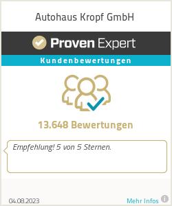 Erfahrungen & Bewertungen zu Autohaus Kropf GmbH