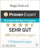Erfahrungen & Bewertungen zu Magic Stick e.K.