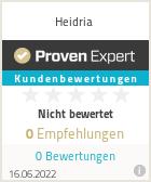 Erfahrungen & Bewertungen zu Heidria