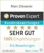 Erfahrungen & Bewertungen zu Marc Dibowski