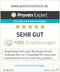 Erfahrungen & Bewertungen zu www.policenschreck.de