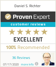 Ratings & reviews for Daniel S. Richter