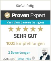 Erfahrungen & Bewertungen zu Stefan Petig