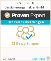 Erfahrungen & Bewertungen zu GRAF BRÜHL Versicherungsmakler GmbH