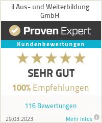 Erfahrungen & Bewertungen zu il Aus- und Weiterbildung GmbH