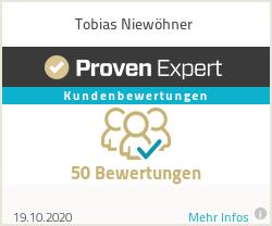 Erfahrungen & Bewertungen zu Tobias Niewöhner