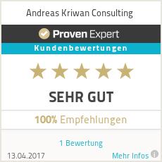 Erfahrungen & Bewertungen zu Andreas Kriwan Consulting