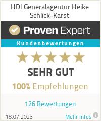 Erfahrungen & Bewertungen zu HDI Generalagentur Heike Schlick-Karst