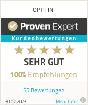 Erfahrungen & Bewertungen zu OPTIFIN