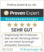 Erfahrungen & Bewertungen zu Profina GmbH & Co. KG