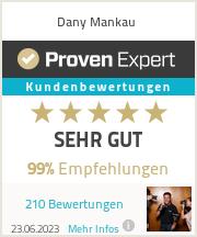 Erfahrungen & Bewertungen zu Dany Mankau