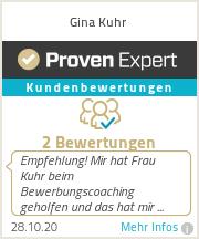 Erfahrungen & Bewertungen zu Gina Kuhr