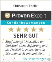 Erfahrungen & Bewertungen zu Christoph Theile