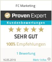 Erfahrungen & Bewertungen zu FC Marketing