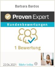 Erfahrungen & Bewertungen zu Barbara Bardos