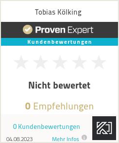 Erfahrungen & Bewertungen zu Tobias Kölking