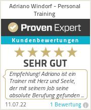 Erfahrungen & Bewertungen zu Adriano Windorf - Personal Training